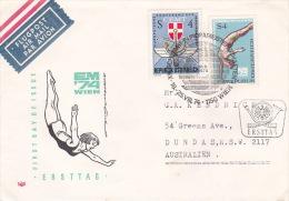 Austria 1974 European Games FDC - FDC