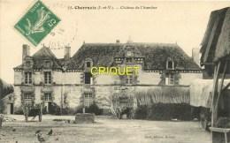 Cpa 35 Cherrueix, Chateau De L'Aumône, Carte Pas Courante Affranchie 1914 - Francia
