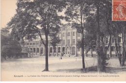 22857 ARCUEIL - La Facade Principale De La Caisse Des Dépôt Et Consignations  -ancien College Albert Grand - Sans Ed .