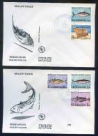 PJM230 -  Mauritanie - 2 Env. Ressources Halieutiques - 18 Avril 1984  - - Mauritania (1960-...)