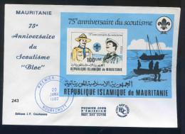 PJM243Mauritanie - Bloc Anniversaire Du Scoutisme - 20 Janvier 1982 - - Mauritanië (1960-...)