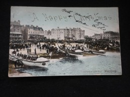 Worthing : The Beach.  Ecrite En 1905. - Worthing