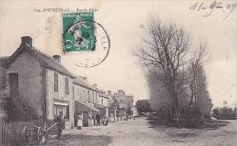 22868 AMFREVILLE -- Le Bas Du Plain  -504 Ed Voisin Caen -arbre En Hivers -charrue - France