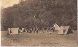 ACP - CPA - HERMETON - CAMP DE SCOUT - Animée - Ecrite - Timbrée 1925 - COB 192 (SEUL SUR CARTE) - 2 Scan - Belgique