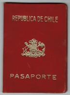 Chile 1969 Passport Reisepass Passeport Pasaporte #19425 - Historical Documents