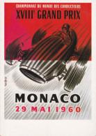 CPA MONACO ,XVIII° Grand PRIX Des Conducteurs 1960. (CPM De 10x15) - Monte-Carlo