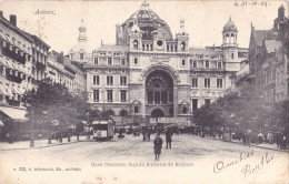 ANTWERPEN -ANVERS   Gare Centrale Façade Avenue De Keyser - Antwerpen