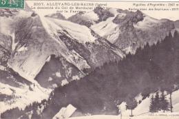 22874 -2 Cpa -Allevard Bains Vue Générale Parc Thermal Casino / Descente Col Mercadet 2007 Et 2593 Grimal - Allevard