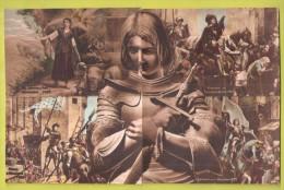 Jeanne D'Arc  Puzzle Puzzel Ensemble De 10 Cartes  Voyez Les 3 Scans JOAN OF ARC COMPOSITE SET - Femmes Célèbres