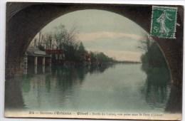 CP, 45, OLIVET, Environs D'ORLEANS, Bords Du Loiret, Vue Prise Sous Le Pont D'Olivet, Voyagé En 1908 - France