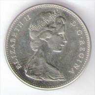 CANADA 5 CENTS 1967 - Canada