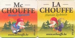 #D77-223 Viltje Achouffe - Bierdeckel