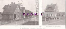Lens Maison De Cheminots 23x10cm 1923   Photo  Issu D´un Magazine De Cette Année Là - Old Paper