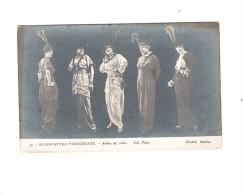 SILHOUETTES PARISIENNES - MODE   ROBES DE VILLE - N.D. Phot. - Silhouettes
