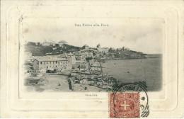 SAN PIETRO ALLA FOCE (GE) - PANORAMA - F/P -V - I - Genova (Genoa)