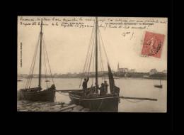 29 - ILE-DE-BATZ - Courrier - Mouillage - Ile-de-Batz