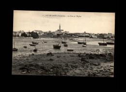 29 - ILE-DE-BATZ - Ruines De La Chapelle Romane - Ile-de-Batz