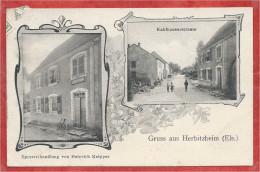 67 - GRUSS Aus HERBITZHEIM - Spezereihandlung Heinrich KNIPPER - Kahlauserstrasse - France