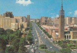 Espagne = Zaragoza Avenue Isabel La Catolica - Zaragoza