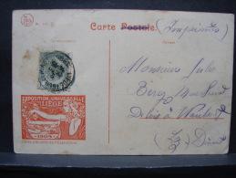 CP. 162. Exposition Universelle De Liège 1905.  Pont Fragnée. Décor Au Verso - Liege