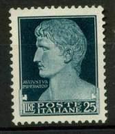 #14-02-00118 - Italy - 1929 - Sass. 260 - MH - QUALITY:100% - Nuevos