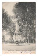 CP , 66 , PERPIGNAN , Monument Commemoatif  , écrite Et Voyagé , Dos Simple - Perpignan