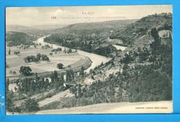 CP, 46, Vallée Du Lot Prise De CAPDENAC-le-VIEUX, Vierge - Francia