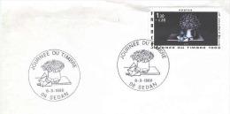 Journée Du TIMBRE 1980. SEDAN. La Lettre à Mélie, D´AVATI. LETTRE. - FDC