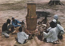 AFRIQUE,TCHAD,m�tier,fort  lamy,haut fourneau,four artisanal,rare