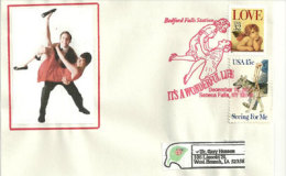 "USA. Le Rock ´n´ Roll ""It´s A Wonderful Life"" Enveloppe Souvenir De Seneca Falls. New-York - Event Covers"