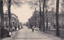 St Mard 11: Avenue De La Gare Et Rue De La Station 1916 - Virton