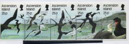 Serie 437/41 Pajaros Ascension Island - Birds