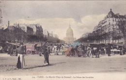 Cpa-75-paris 7 Eme-animée-Marché Place De Breteuil-edi L.F. & Fn°134 - District 07