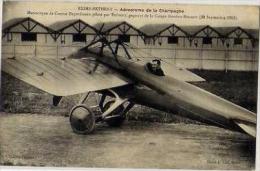 51 - REIMS-BETHENY - AERODROME DE LA CHAMPAGNE - MONOCOQUE DE COURSE DEPERDUSSIN PILOTE PAR PREVOST... - Reims
