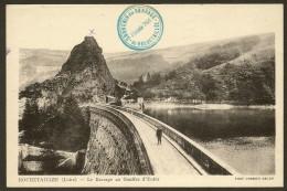 ROCHETAILLEE Rare Le Barrage Au Gouffre D´Enfer (Combier) Loire (42) - Rochetaillee