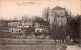Cpa  L'abbaye De MARMOUTIER, Près De Tours, Vue Générale Des Grottes (31.44) - Tours