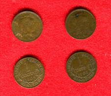 FRANCE - 1 CENTIME DUPUIS 1903  - LOT DE 2 MONNAIES - A. 1 Centime