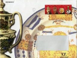 ESPAÑA / SPAIN / ESPAGNE (2011) - Sobre / Cover / Lettre - Porcelana, Arte, Cerámica, Ceramique, Ceramic, Porcelain - Porselein