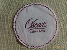 Posavasos Oscar´s Coffee Shop. - Sous-bocks