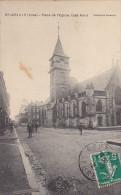 22880 BEUZEVILLE -- Place De L'Eglise Côté Nord - Coll Vicomte