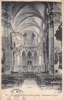 22881 LE CATEAU, Nord 59 Avant Guerre : Intérieur De L'Eglise; B.F. 33 -