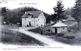 Les Feignes-sous-Vologne - Col Entre La Bresse Et Retournemer - Le Café Restaurant - Très Beau Plan Animé - France