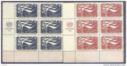 ONU54-L1218CTO.SPAIN.NACI ONES UNIDAS.Derechos Humanos.(UN)1957.(Iv. 54/5**) Sin Charnela. - Otros