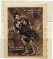 ERINNOFILO  MILITARE   - REPUBBLICA SOCIALE - SETTIMANA DEL PROFUGO OTTOBRE  1944 - XXII - RARO - Erinnofilia