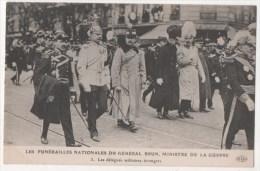 PARIS -  Funérailles Nationales Du Général Brun, Ministre De La Guerre - Les Délégués Militaires étrangers - Francia