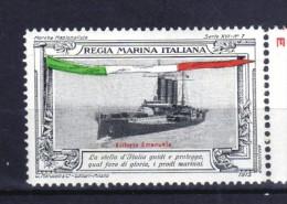 ERINNOFILO  MILITARE - REGIA MARINA ITALIANA  LA  VITTORIO EMANUELE - Erinnofilia