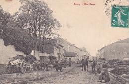 22895 BOUCQ RUE BASSE - 54 -charette Bois Femme Cheval - France