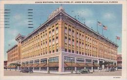 Florida Jacksonville Cohen Brothers Department Store 1936 Curteich - Jacksonville