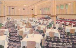 Florida Jacksonville Jenks Resturant Curteich