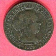 ISABELLE II 1868 TB 7 - Espagne